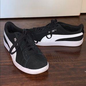 Black Puma Suede Sneakers